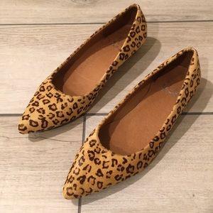 Women's Cheetah flats
